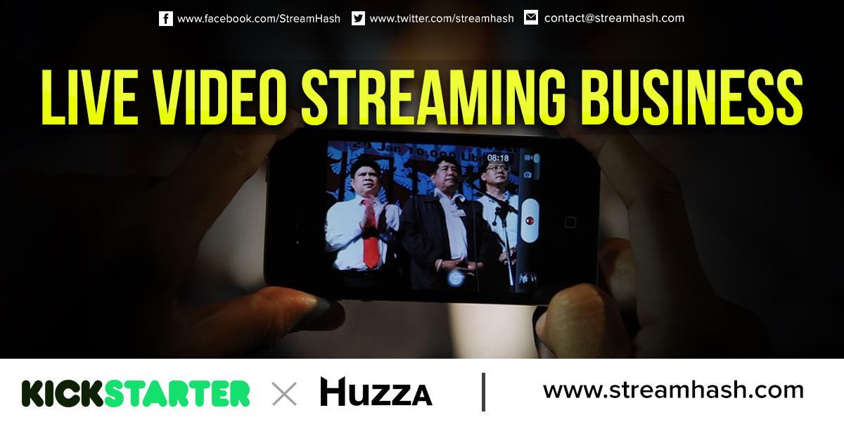 Huzza Live Streaming