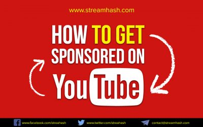 How To Get Sponsored On YouTube For Your channels