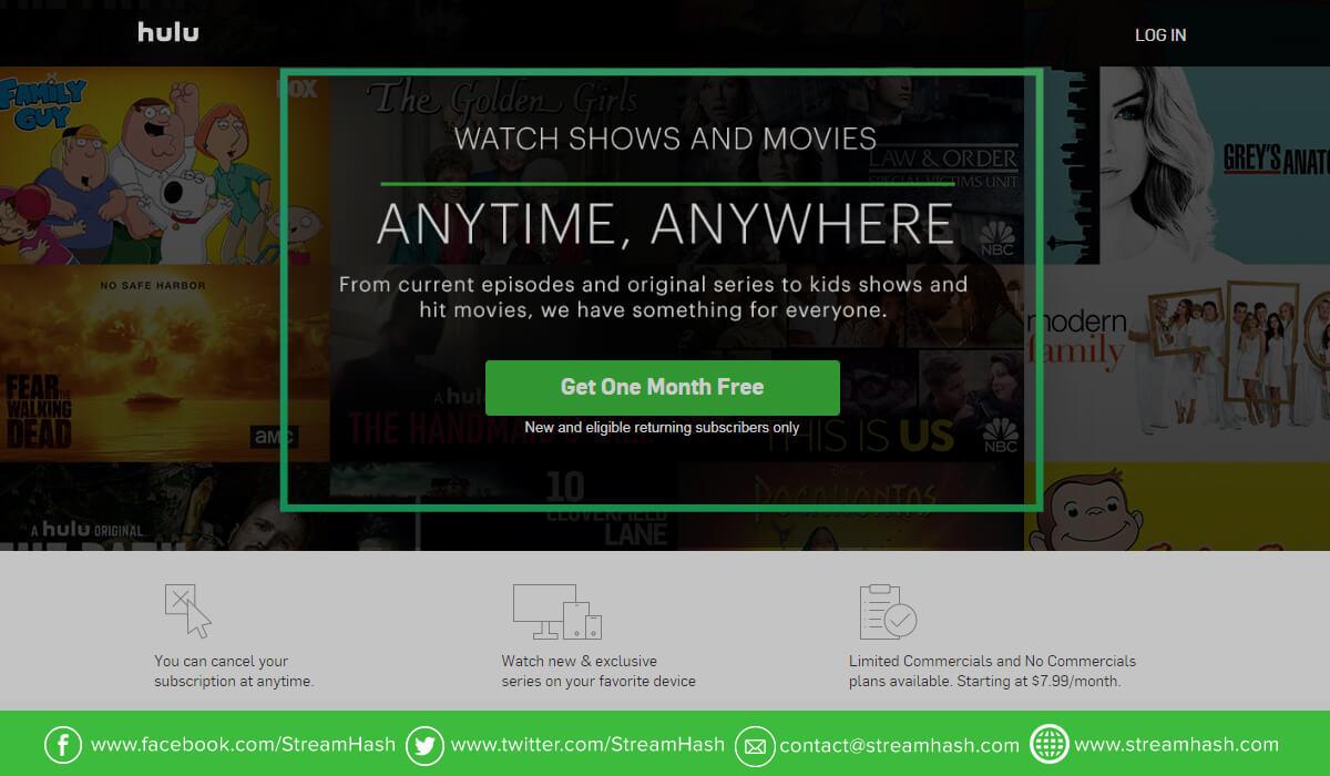 Netflix Alternatives - Hulu