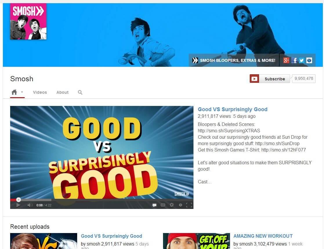 create youtube like website