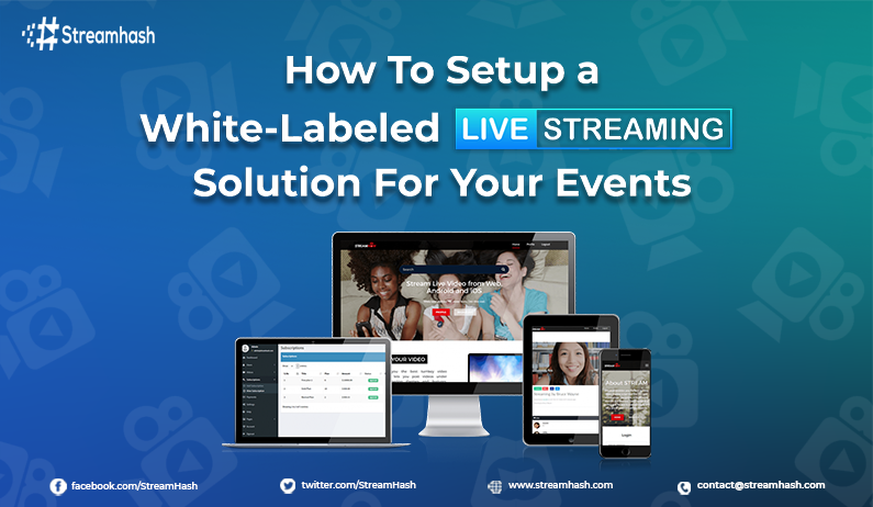 How to setup a White-labeled Live Streaming Solution for Your Events