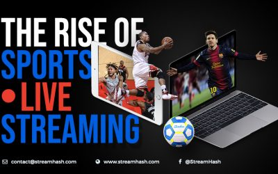 The Rise of Sports Live Streaming (Infographic)