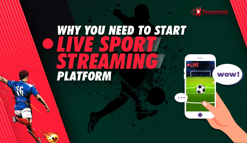 Why You Need to Start Live Sports Streaming Platform?