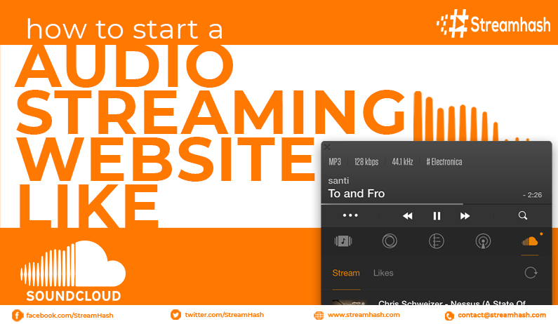 How To Start An Audio Streaming Website Like SoundCloud?