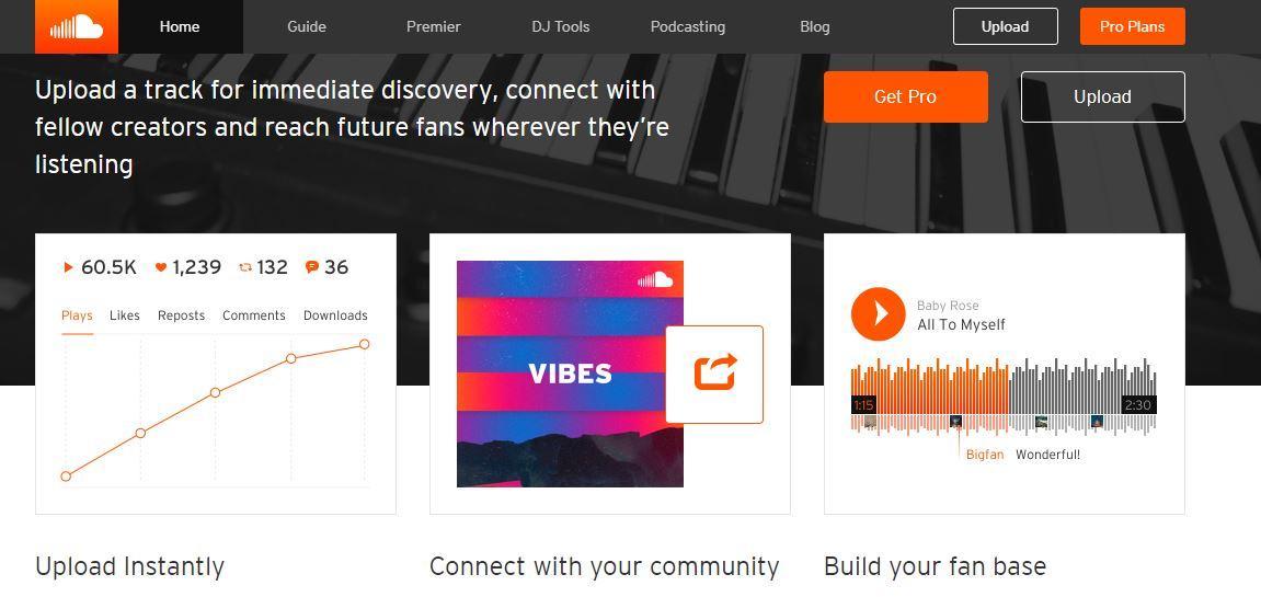 Upload-start-website-like-soundcloud-streamhash