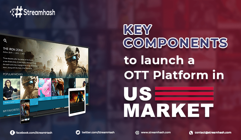 Key Components to Launch an OTT Platform in the US Market