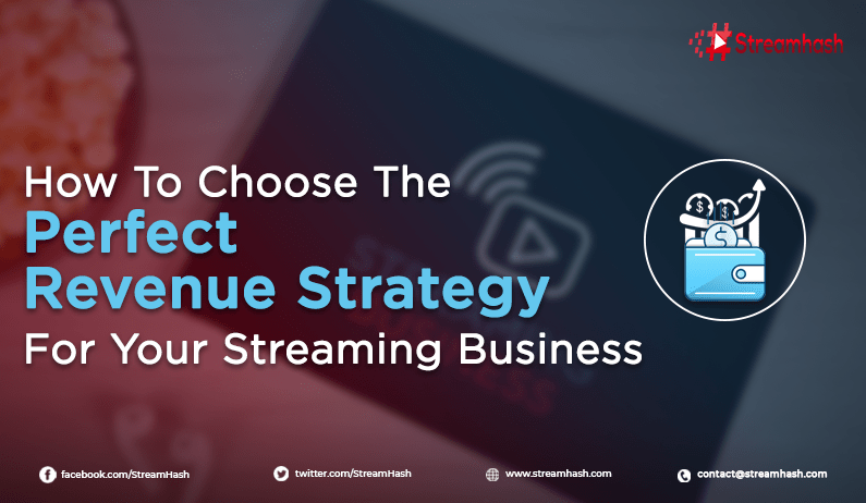 How To Choose The Perfect Revenue Strategy For Your Streaming Business?