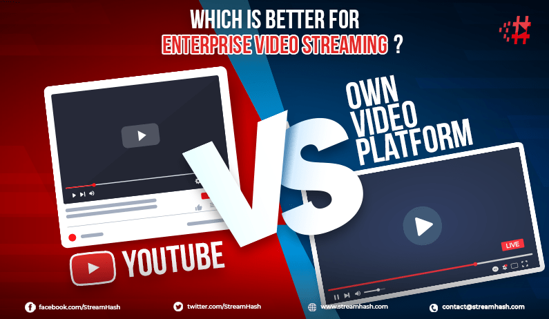 YouTube vs. Own Video Platform: Which is Better for Enterprise Video Streaming?